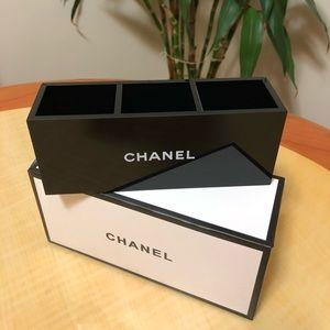 Chanel VIP Brush Holder Black Acrylic